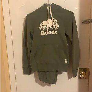 Roots tracksuit